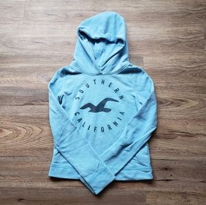 🌷SPRING COLLECTION: Hollister Sky Blue Hoodie